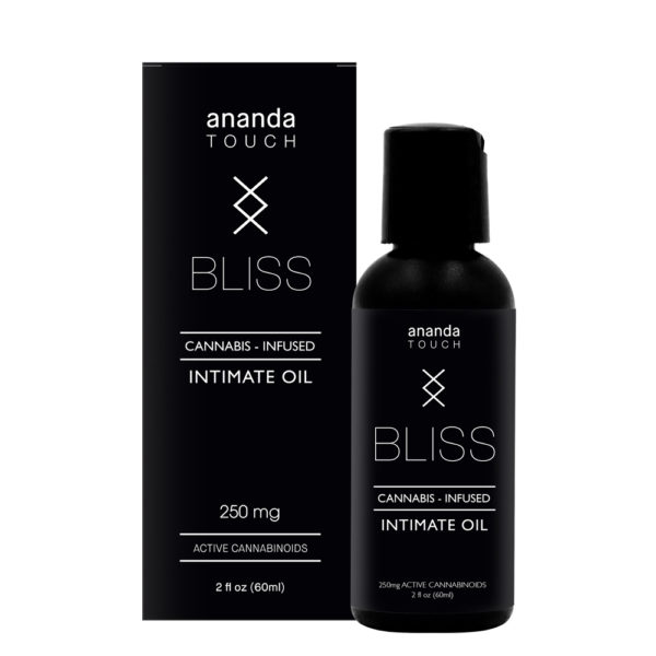 Ananda Bliss cannabis-infused intimate oil at Natural Wellness Corner Concord NH